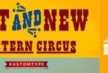 Buffalo Circus by Kustomtype