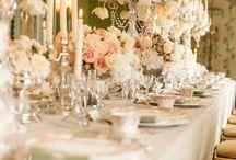 Downton Abbey Wedding Style / http://weddingjournalonline.com
