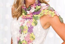Free Scarf of the Week Crochet Patterns / Free crochet scarf of the week patterns featured in season 4 of Knit and Crochet Now! TV.  / by Knit and Crochet Now!
