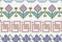 Cross Stitch - Borders