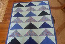 patchwork board / my first cot quillt