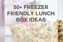 Kid snacks freezer friendly