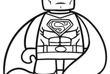 Toys and Action Figure Coloring Pages