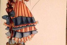 ilustración dibujos y pinturas / dibujos, pinturas