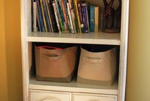 Bookshelves / Bookshelves ~ painted, glazed, and distressed by Facelift Furniture