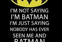 My Batman board / Things I love about Batman