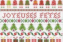 Cross stitch Mery christmas