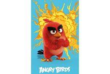 Angry Birds / Dekbedovertrek, strandlaken, kussentjes, en andere leuke producten van Angry Birds.