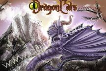 DragonCats / Digital Painting