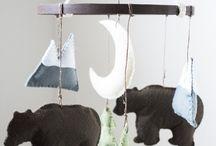 Boy nursery / Earthy themed nursery
