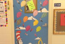 clasroom door ideas