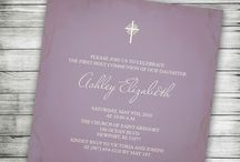 Catholic and Christian Invitations / Beautiful Baptism, Christening, First Communion and Wedding invitations.