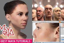 Maya 3D / 3D tutorials