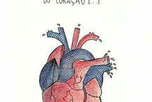 coração doído de uma dor doida
