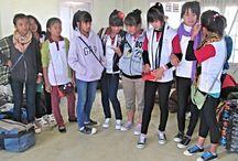 Nuchhungi English Medium School / Photos of Mizo school students