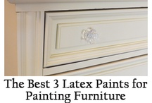 Re-paint ~ Re-finish / Painting, refinishing, tips and instructions