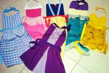 Apron costumes to sew