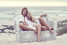 the White House Beach Villa - Girls Story Shoot / Photographer: Astrid Obert Models: Tyler Setzer & Remy Green Hair & Make-up: Julia Sudhoff