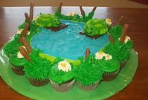 Cupcake cakes / by Camille Harrison