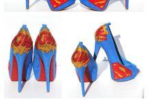 Sapatos e Meias / Sapatos e meias estilo geek.
