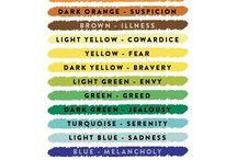 colores +sentimientos =tu
