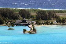Bora Bora (BOB) Airport / Photos/Videos of the small airport of Bora Bora island