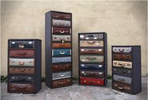 New uses for old suitcases / Mainly DIY projects with tutorials / by Unconsumption