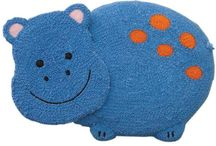 Hippo Cake Design / This shape cake is made by using our Wilton Ladybug cake tin.