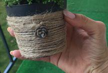 Decot / Decoratiune pentru ghiveci handmade
