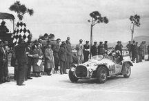 Ferrari's racing / Ferrari cars, racing, and standing still