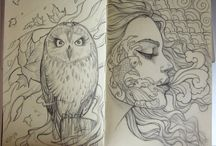 Drawings (tegning/ skitse)