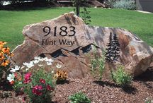 Landscape-Front Yard & Home Idea's / Idea's & Curb Appealing / by Linda Finni