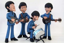 BEATLES PORCELANA FRIA