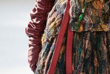 hautecouture weaving textile handmade / Nomads Of The World, Catwalk details