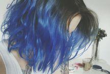 Coloridos / cabelos desejados