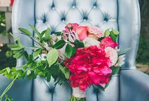 INSPIRATION | Peony Bouquets / Everyone loves peonies! Some inspiring bouquets for those lucky enough to be getting married in the peony season