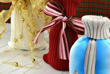 Ecological Reusable Gift Wrap / Make your gifts more special by wrapping them in an eco-friendly way! Here are plenty of ideas for reusable gift wrap that is much more ecological than disposable wrapping paper!