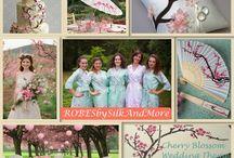 Cherry Blossom Wedding Inspirations