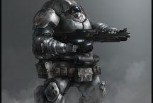 Power Armor & Mechs