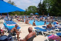 Island Club Pool / The Big Pool at Island Club Put-In-Bay is where all the fun happens!