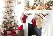 Christmas Decor / Christmas home decor inspiration.
