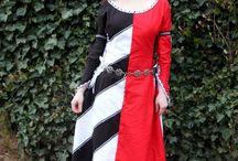 medieval dress - inspirace
