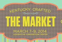 2014 Kentucky Crafted:The Market / Nowhere in Kentucky, let alone the nation, will you find such a convergence of high quality art, craft, literature, music, film and food as you will at Kentucky Crafted: The Market. When you attend this show, prepare yourself for an exciting sensory experience. Kentucky Crafted: The Market is one of the only state-sponsored shows of its kind to showcase traditional and contemporary fine art and craft along with Kentucky-related books, musical recordings, films and specialty food products.