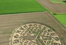 Crop circles from aliens