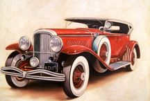 Vintagebilder biler