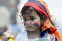 Armenian Pride & Tricolor / Anthing that signifies the Armenian tricolor flag & Armenian pride / by Koharig