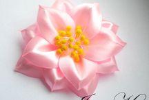 kvety zo stuh