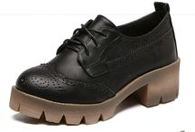 Classy Lace Up Oxfords Shoes