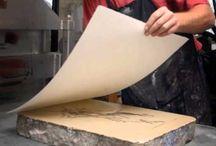 Printmaking videos and tutorials