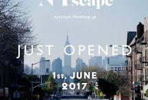 News / Online Store:  nyscape.theshop.jp